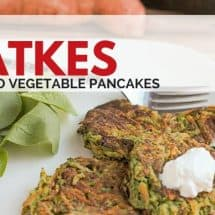 Easy Potato Vegetable Pancakes Recipe (Latkes)