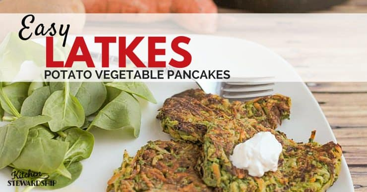 easy potato vegetable pancakes (grain-free!)
