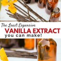 The Least Expensive Method to Make Homemade Vanilla Extract (& it's Faster too!)