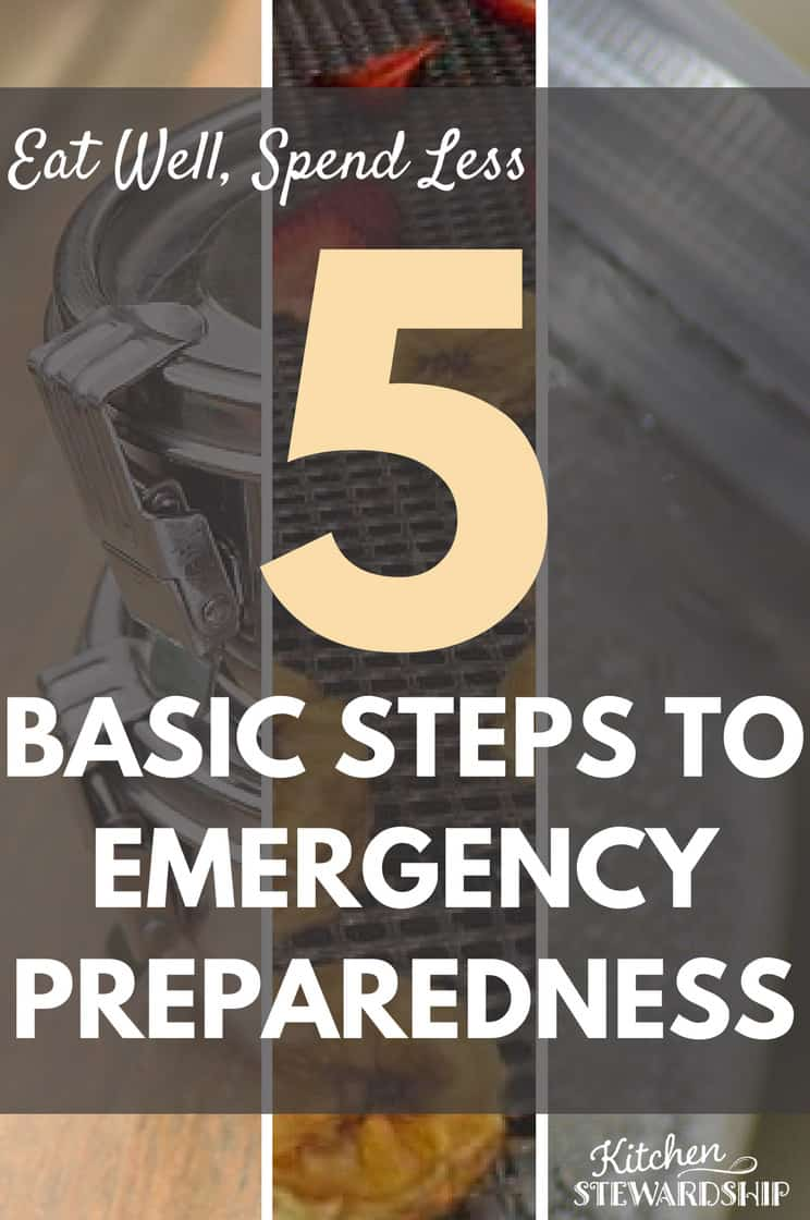 Eat Well Spend Less 5 Basic Steps to Emergency Preparedness 1 P