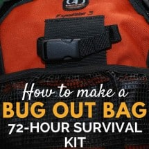 Monday Mission: Make a Bug Out Bag