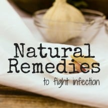 Monday Mission: Stock Your Natural Remedies Medicine Cabinet