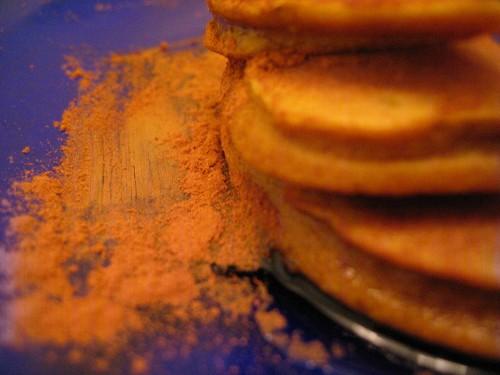 squash or pumpkin pancakes