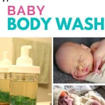 How to Make Your Own Homemade Safe Baby Body Wash {GUEST POST}