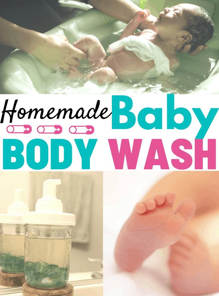 homemade baby body wash