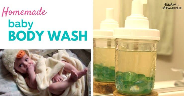 How to Make Homemade Baby Wash: Natural Body Soap For Young & Old