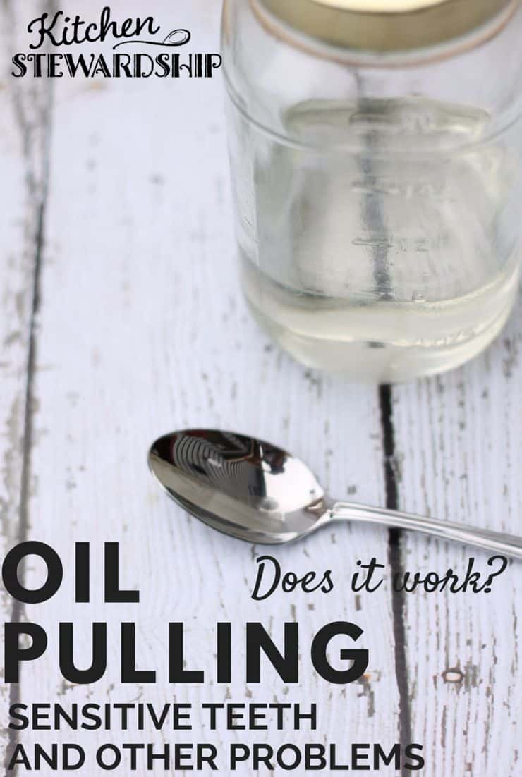 What is oil pulling? The idea is that swishing oil in the mouth pulls bacteria out and helps oral health and LOTS of other areas. I was skeptical...read my story here.