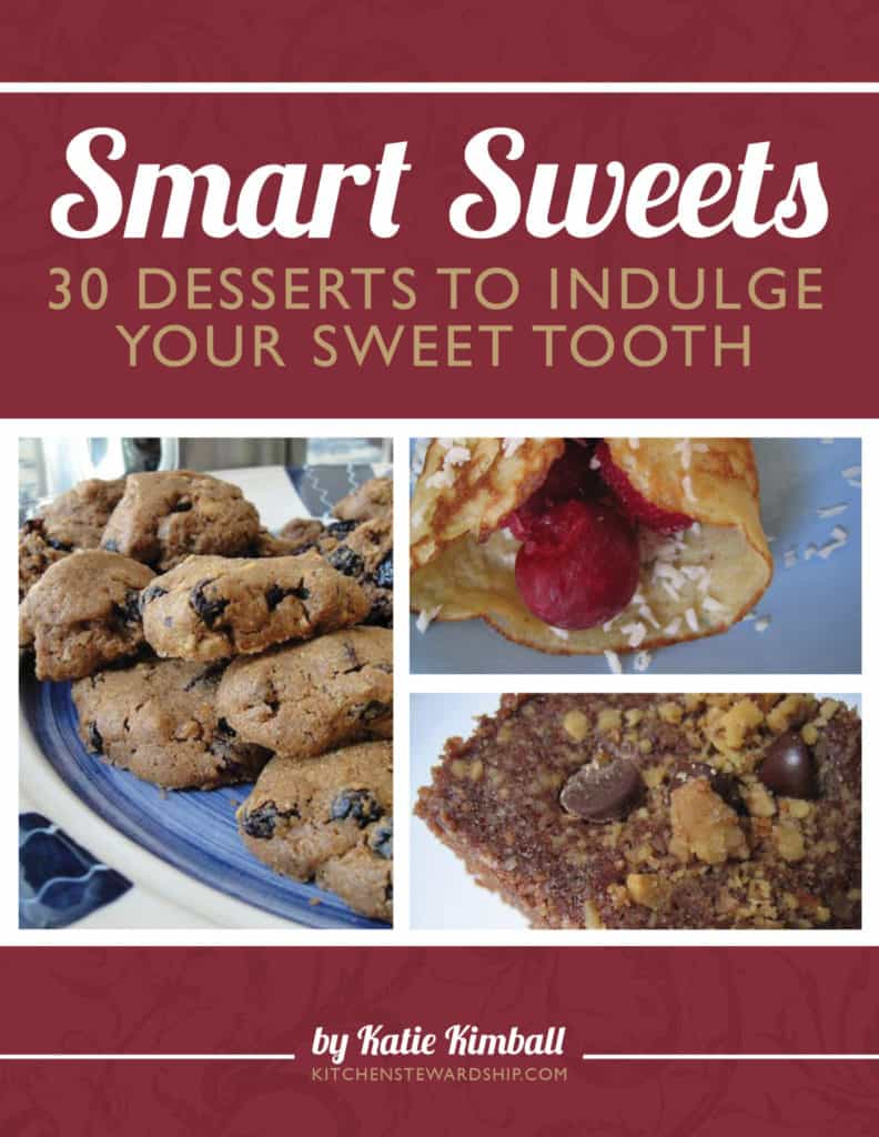 Cover of Smart Sweets cookbook by Katie Kimball