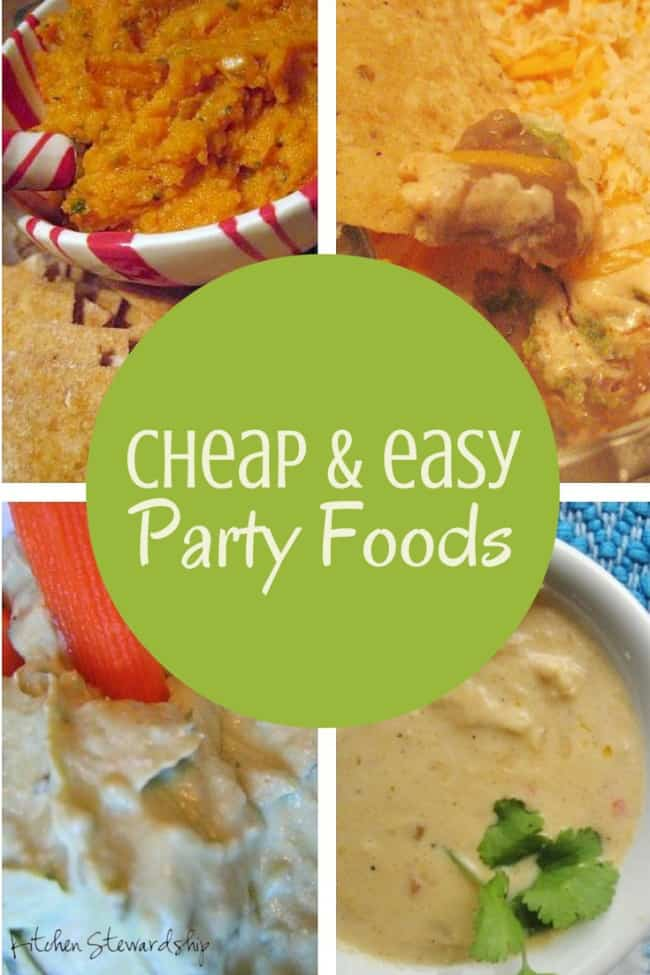 Cheap and Easy Party Foods