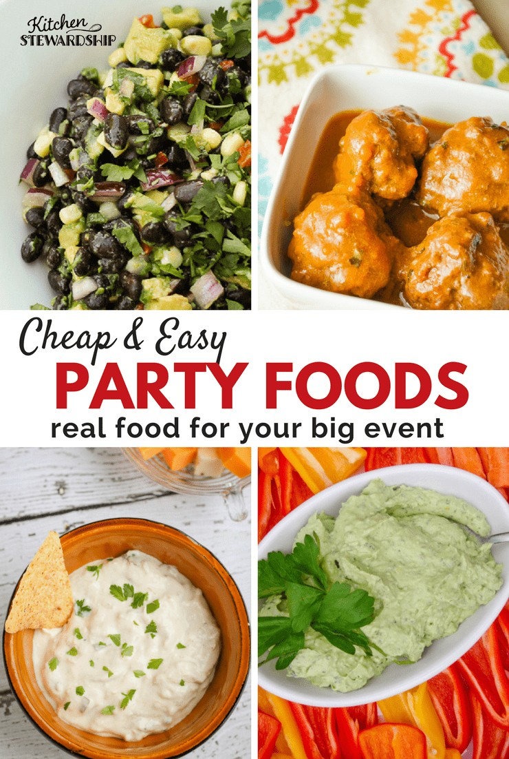 Cheap Easy Party Foods