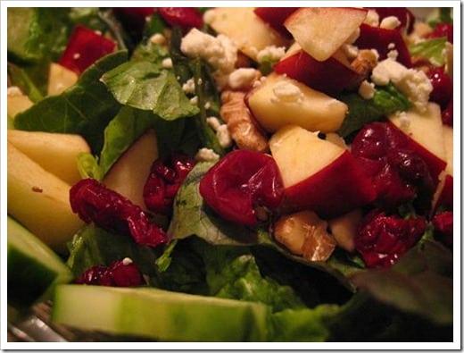 Christmas salad - smaller