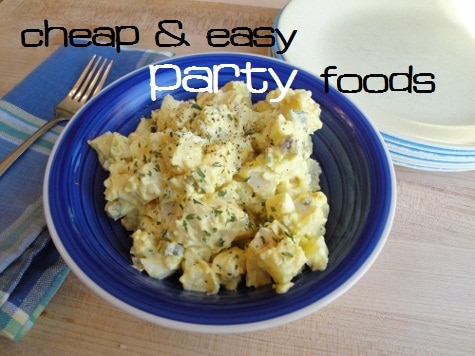 cheap and easy party food ideas