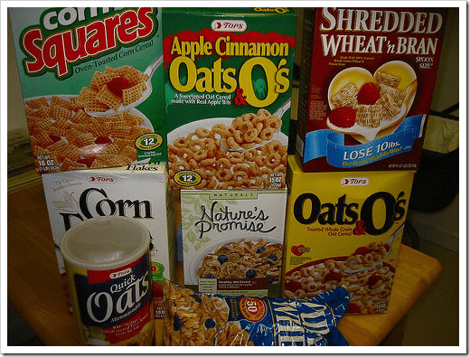 report on kids cereal and sugar