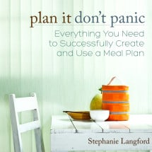 Get Your Meal Planning on Track…Plan it – Don't Panic! {GIVEAWAY – NOW CLOSED}