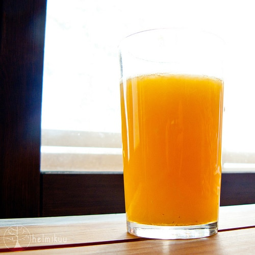 Juice is cooked-which means it looses its nutrition