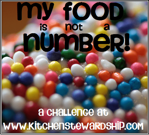 My Food Is Not A Number