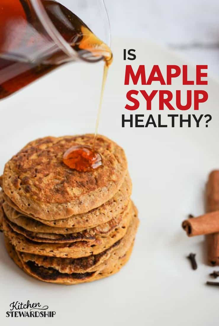 Is maple syrup healthy?