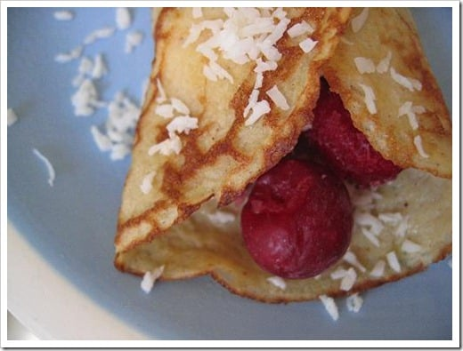 cherry almond coconut crepes (9)