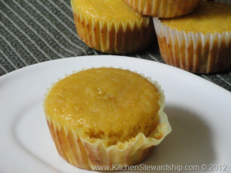 A grain-free coconut muffin on a plate