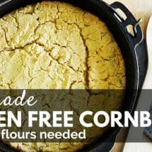Recipe Connection: Gluten-Free Cornbread (with no fancy flours)