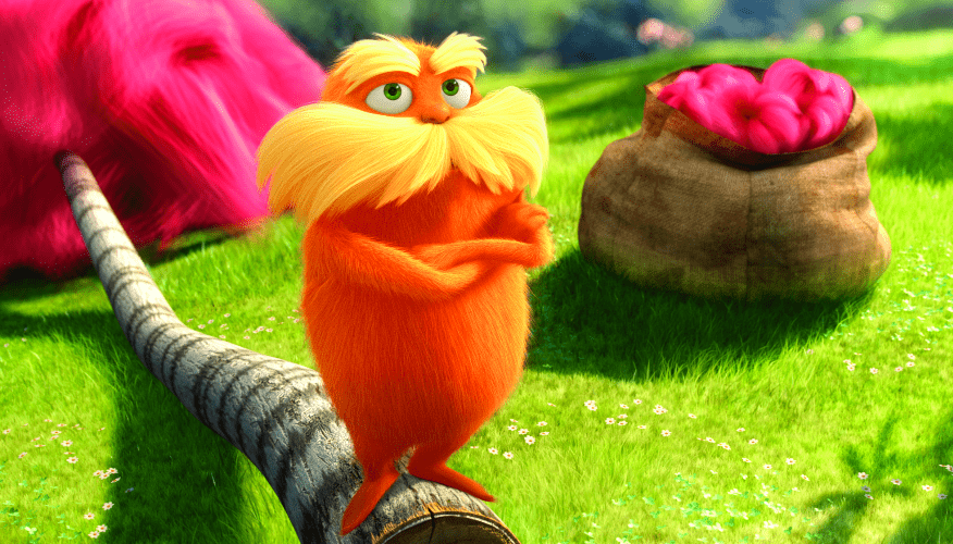 """The Lorax"" Movie Review - new Dr. Seuss Movie"