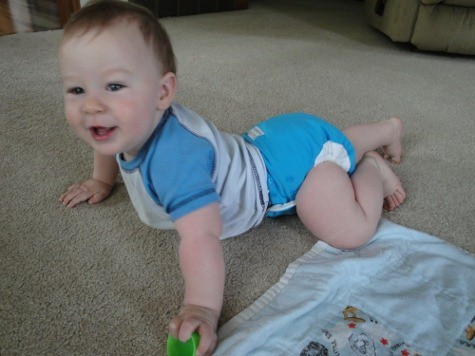 Babykicks Premium Joey Bunz cloth pocket diaper review