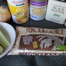 Real Food Donation Printable: Chicken Rice-a-Roni with Beans
