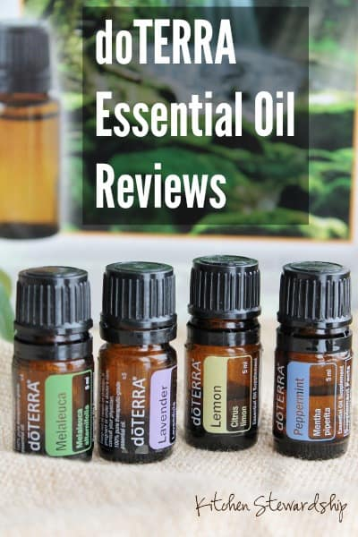 Review of doTERRA Essential Oils, from read readers who got to try them out!