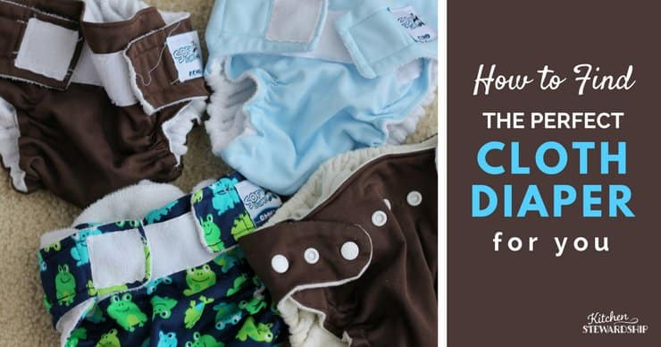 How to Find the perfect cloth diaper
