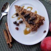 Recipe Connection: Soaked Apple Cinnamon or Cherry Almond Baked Oatmeal (A Make-Ahead Breakfast!)