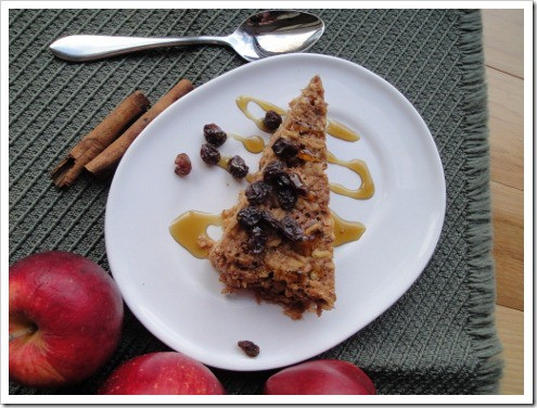 Soaked Apple Cinnamon or Cherry Almond Baked Oatmeal - a super easy make ahead breakfast. No work for you the morning of!
