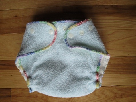 kissaluvs cotton fleece cloth diaper