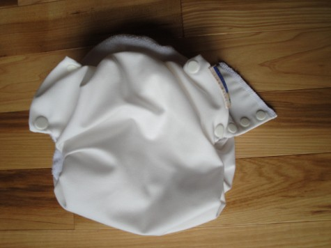 motherease all-in-one AIO cloth diaper review