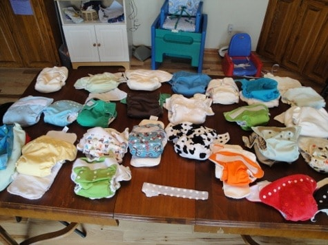 Cloth Diaper Absorbency Tests: How Much Will It Hold? Can you guess how much liquid the winner held?