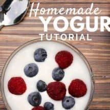 Making Homemade Yogurt: Easy Picture Tutorial
