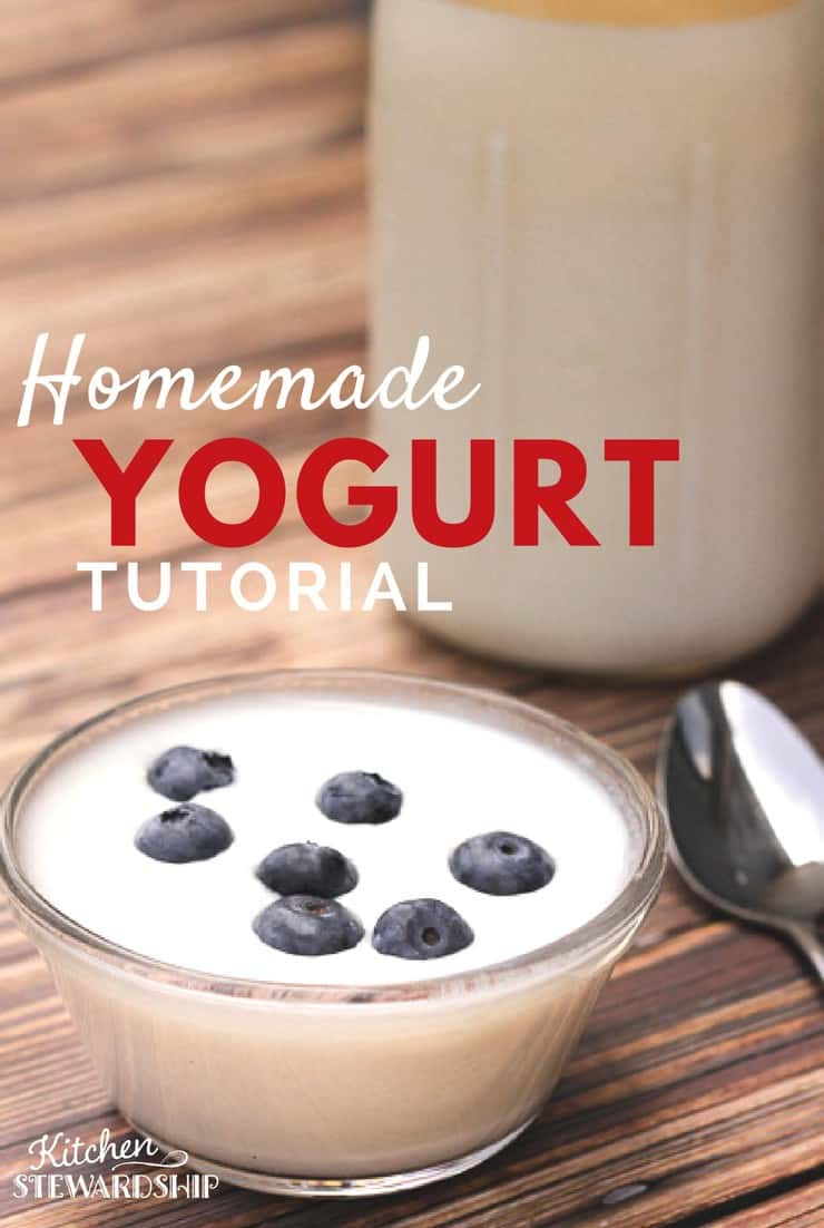 Homemade yogurt may sound complicated. But once you actually see how it's done you'll easily be cranking out a fresh batch every week!