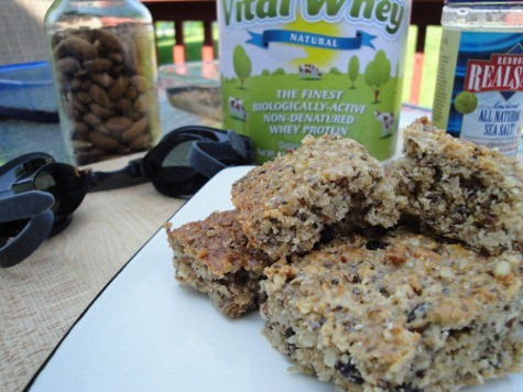 grain free gluten free quinoa bar recipe