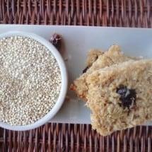 Recipe Connection: Quinoa Oat Protein Bars