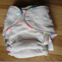Want Bulletproof? Try Fitted Cloth Diapers