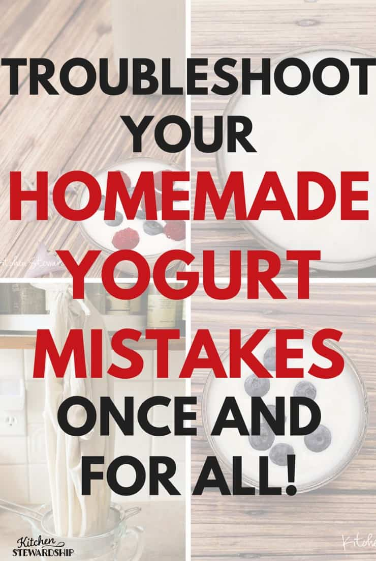 Yogurt trouble shooting guide pinterest option 2