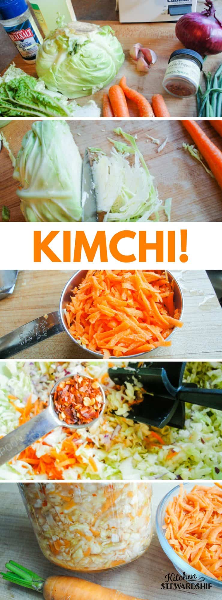 Fermenting vegetables can be easy and save you money. Check out this easy homemade kimchi recipe.