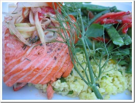 Minneapolis sustainable restaurant - salmon (3)