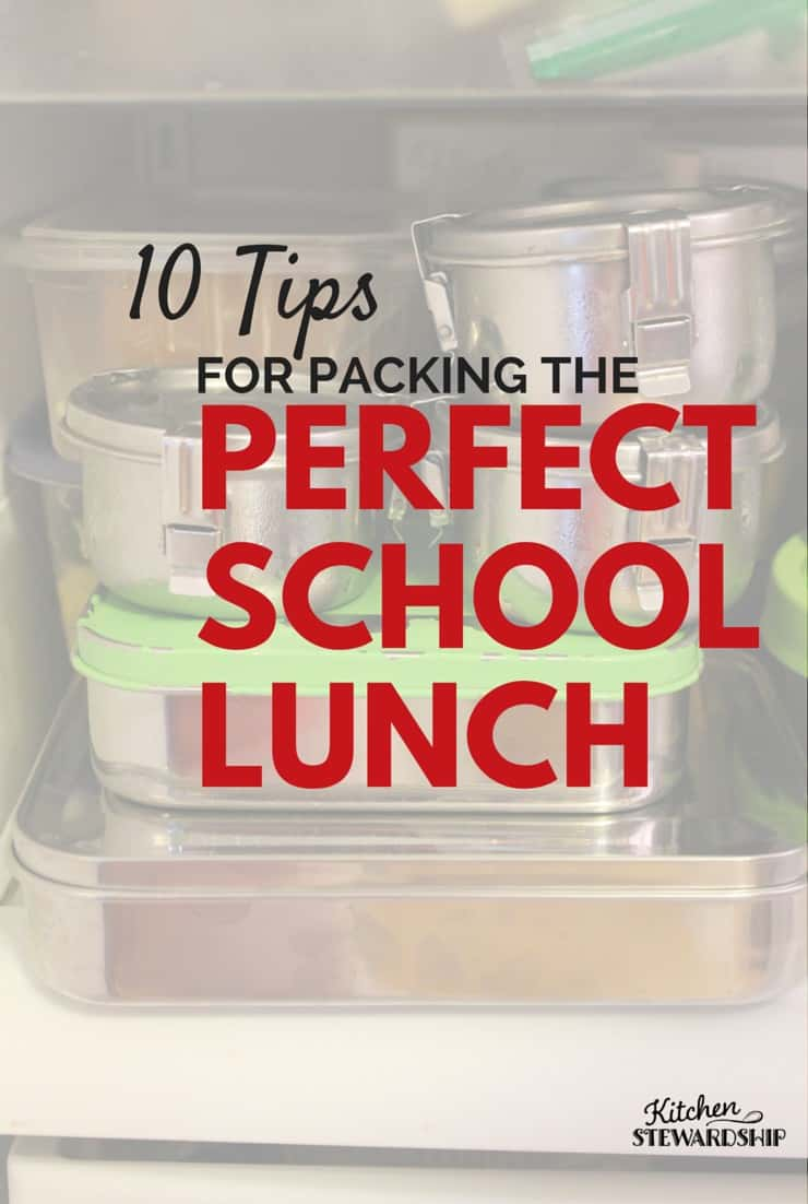 10 TIPS to pack brilliant school lunches