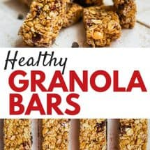 KS Healthy Granola Bar Recipe