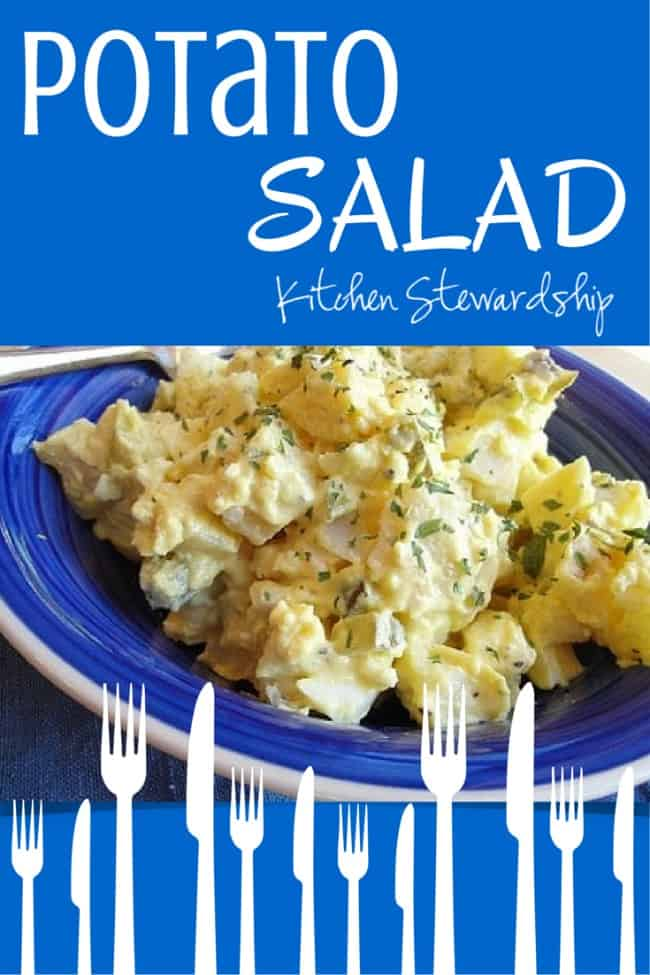 Homemade Potato Salad, Simple Real Food Style