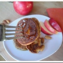 Recipe Connection: Almond Apple Grain Free {Paleo} Pancakes