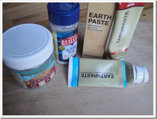 Read my review of several mainstream natural toothpastes and teeth cleaners