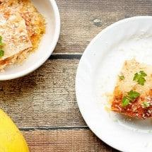 Spaghetti Squash Lasagna {Low-Carb, Gluten-free, Grain-free}