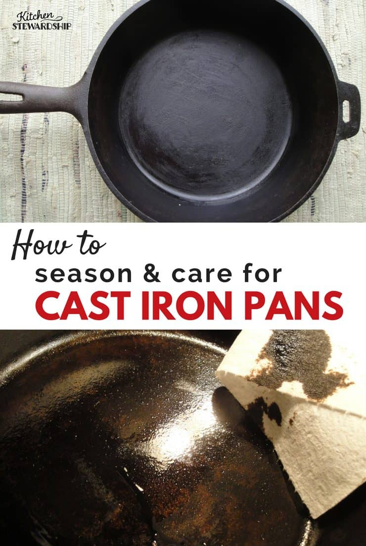 Did you know - it's not that hard to season and care for cast iron pans? I'll show you how!