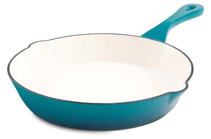 Enameled Cast Iron Pan